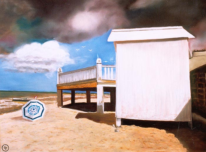 © Pierrick GIRAULT - Cabane blanche 50 x 70 cm