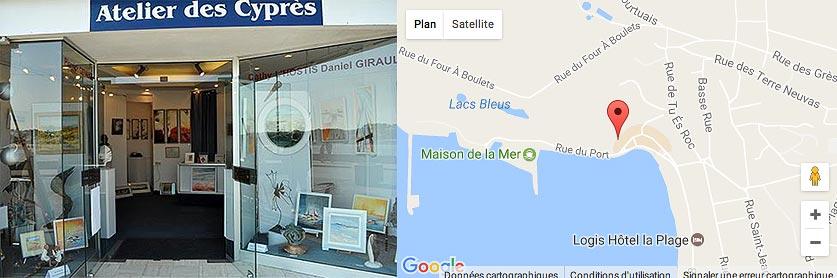 Galerie des Cyprès Erquy