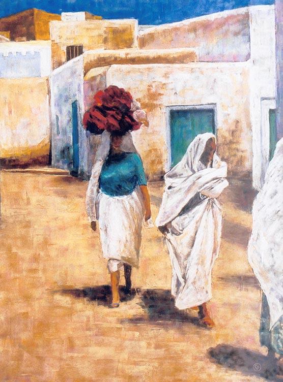 © Pierrick GIRAULT - Tunisie Nadette 60 x 80 cm