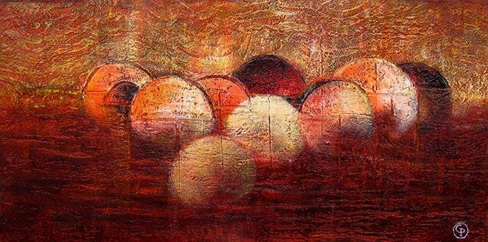 © Pierrick GIRAULT Variation IX 40 x 20 cm