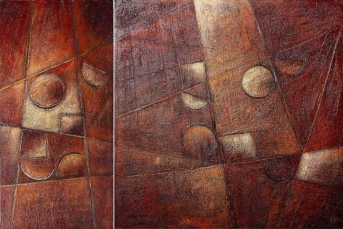 © Pierrick GIRAULT Variation X 90 x 30 cm