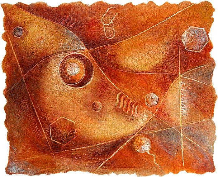 © Pierrick GIRAULT Variation XIII 65 x 54 cm