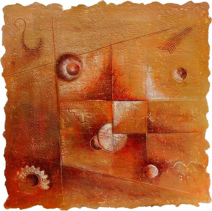 © Pierrick GIRAULT Variation XIX 60 x 60 cm