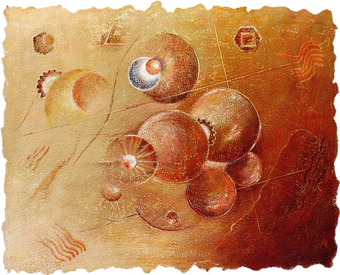 © Pierrick GIRAULT Variation XVI 81 x 65 cm